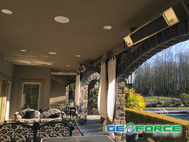 Langley to Vancouver outdoor living space design by GeoForce Energy