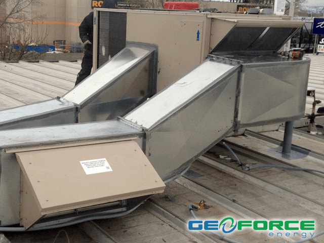 GeoForce commercial HVAC heating and cooling