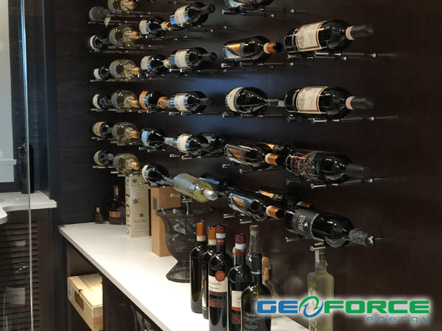 GeoForce Energy Vancouver custom wine cellars