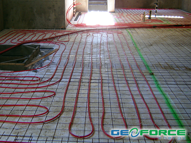 Radiant In Floor Heating Cooling By Geoforce Energy