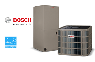 Vancouver air conditioning company Bosch heat pumps