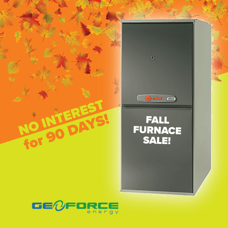 Buy a qualifying air conditioner, get a furnace 50% OFF !